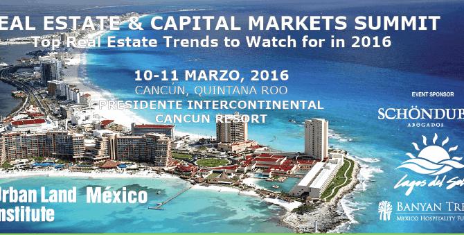 ULI – Cumbre de Bienes Raíces & Mercados de Capital