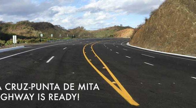 Abren la carretera a Punta de Mita