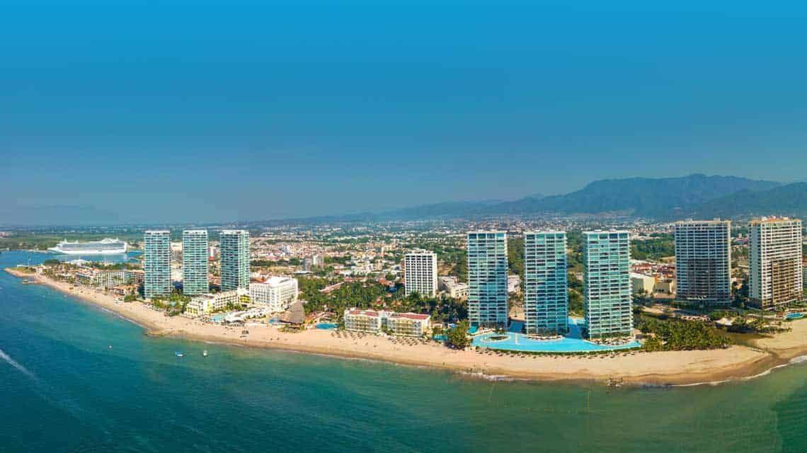 Vallarta Hotel Zone Beach properties