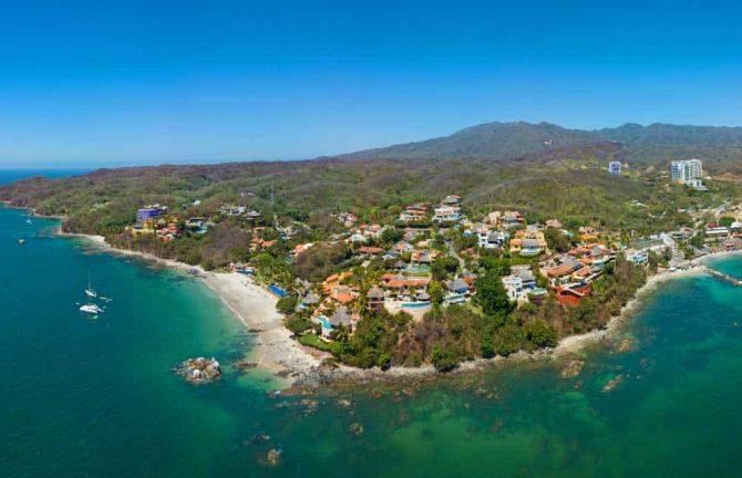 New Aerial Images of Puerto Vallarta's Most Popular Regions